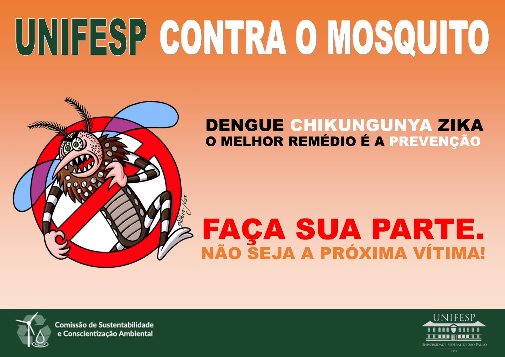 Banner aedes